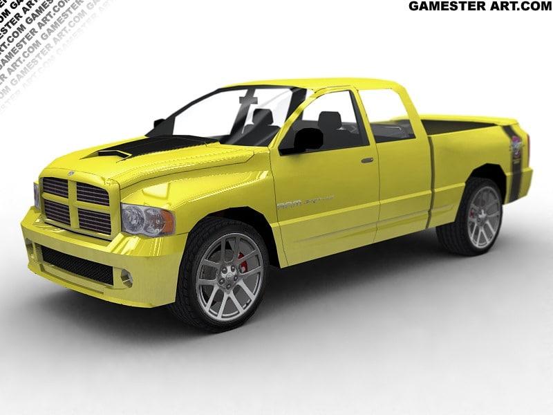maya dodge ram srt-10 pickup truck