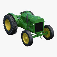3d max tractor industrial