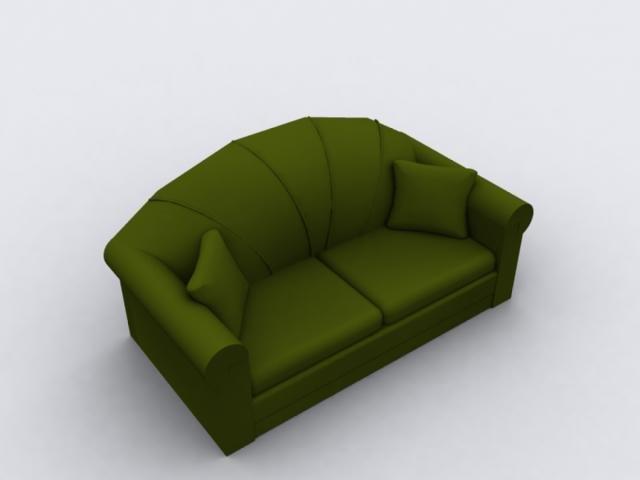 3d model furniture living room