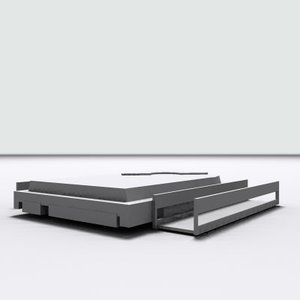 3d model of hard-drive brackets hard drive