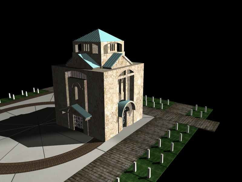 georgianchurch 3d model