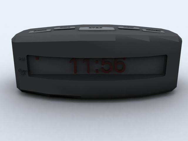 alarm 3d 3ds