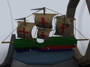 boat 3d