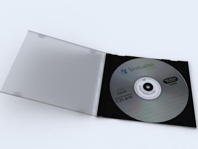 3d model cd computer