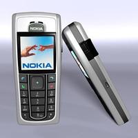 nokia 6230 3d model