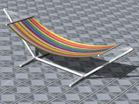 hammock 3d c4d