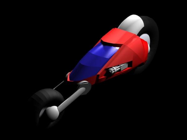 superbike bike 3d model