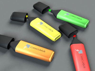 3d model marker fluor