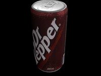 3ds max dr pepper
