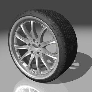 hartge classic wheel tires max