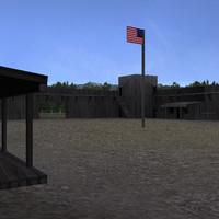 wild west fort
