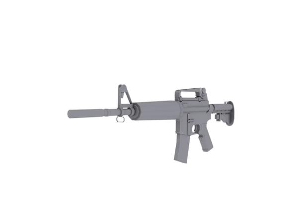 3ds m4 gun