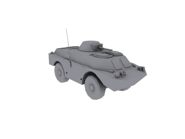 bdrm-2 military 3d model