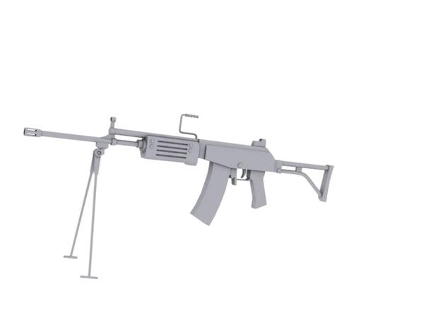 galil arm 3d model