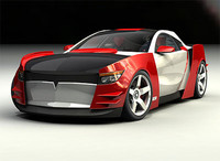 Marvel Villain Concept Car