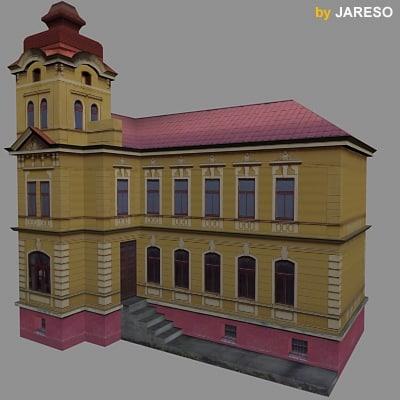 building 01a 3d model