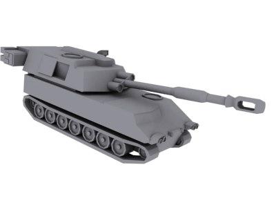 m109 paladin 3d model