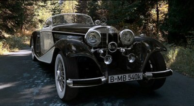 3d model oldtimer mercedes benz 540k