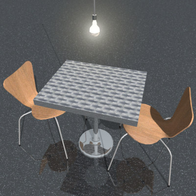 max cafe table