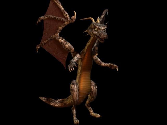 dragon bones 3d