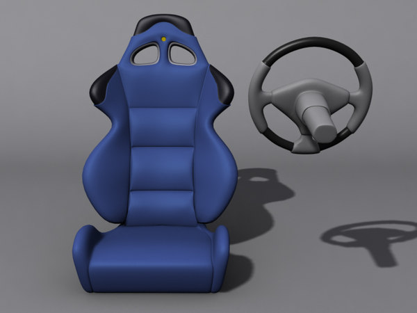 car seat 3ds