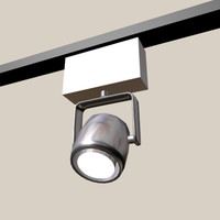 track lighting 3d model