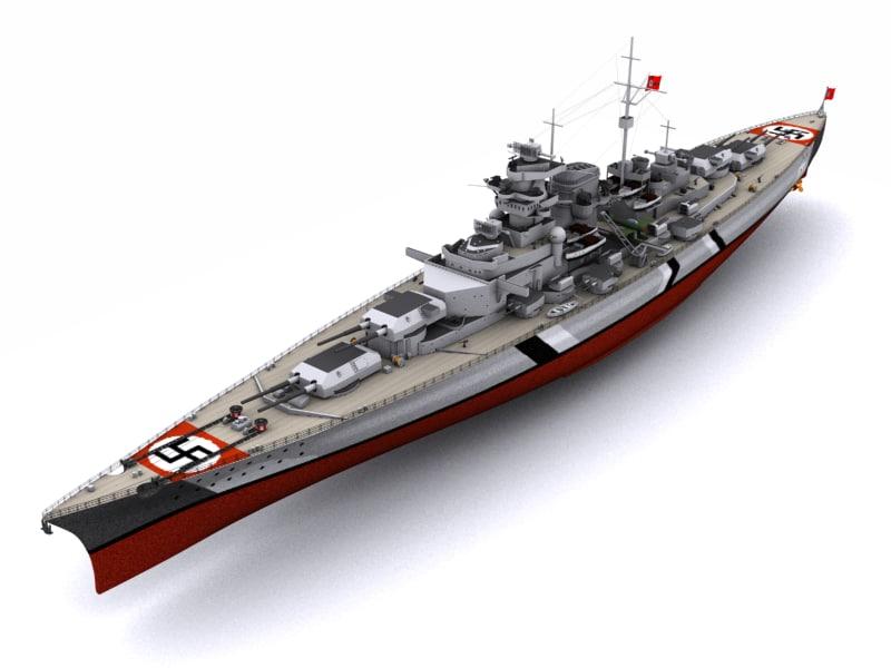 max battleship bismarck