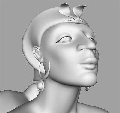 3d model statues sphinx