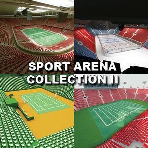 3d max sport stadium