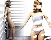 3d model realistic female
