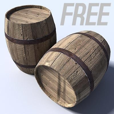 free max mode wood barrel