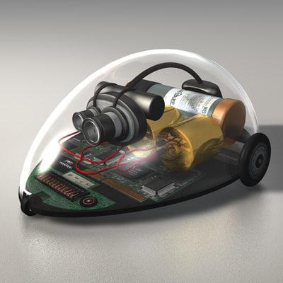 cinema4d robot mouse