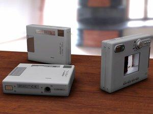 minolta digital camera 3d cob