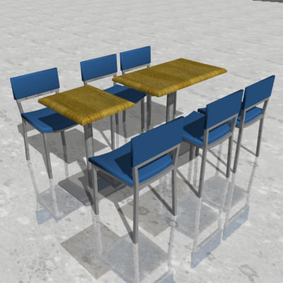 maya cafeteria table chairs restaurant