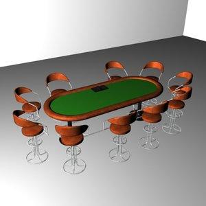 3d stud poker tables
