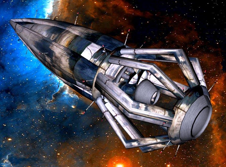 3d ship transport space