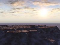 terrains 3d model