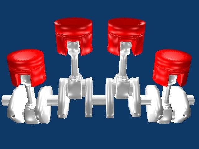 pistons engine blend free
