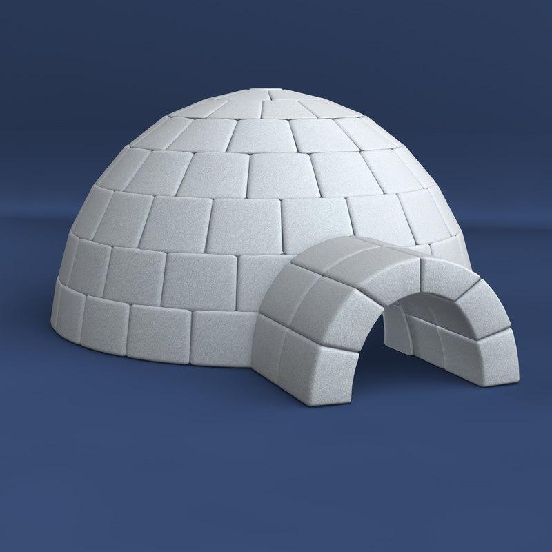 3d igloo