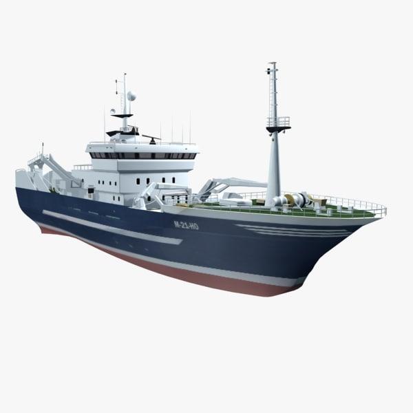 3d ship cargo transport