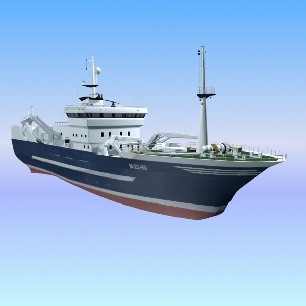 3d ship cargo transport