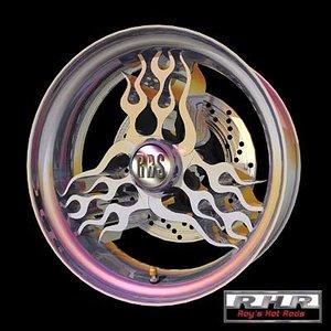 flamed wheel lwo