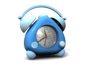 3dsmax cute clock