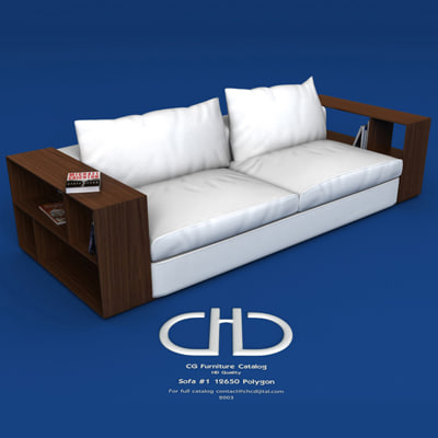 3ds max sofa interior