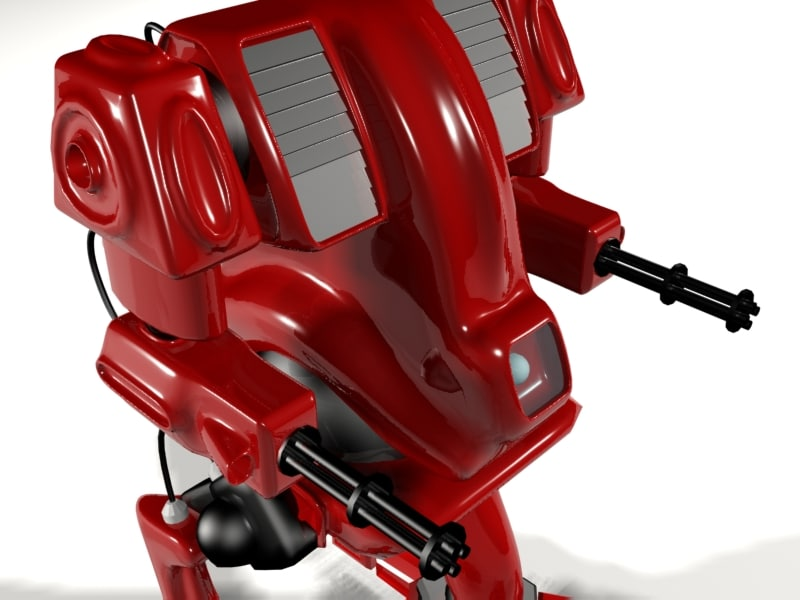 vecter robot 3d max