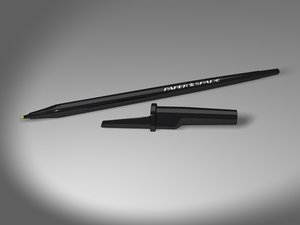 ballpoint inkpen pen 3d obj