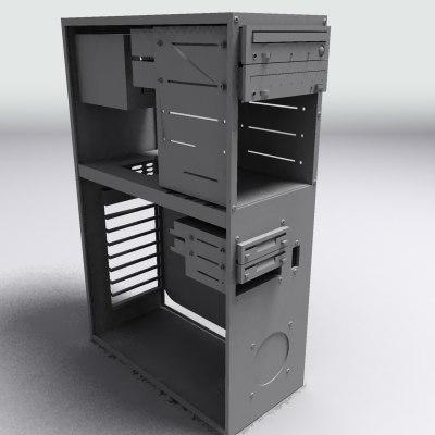 computer case 3d max