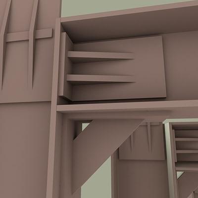 3ds max i-beam parts