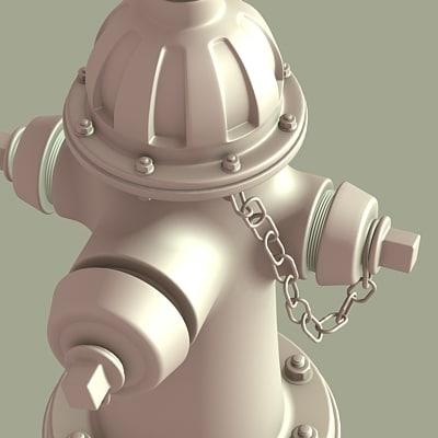 firehydrant 3d model