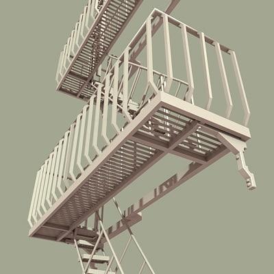 3d architectural escape